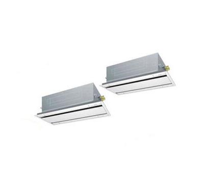 ダイキン 業務用エアコン FIVESTAR ZEAS天井埋込カセット形エコ・ダブルフロー<センシング>タイプ 同時ツイン160形SSRG160BCND(6馬力 三相200V ワイヤレス)■分岐管(別梱包)含む