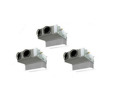 ダイキン 業務用エアコン EcoZEAS天井埋込カセット形 ビルトインHiタイプ 同時トリプル160形SZRB160BCM(6馬力 三相200V ワイヤード 吸込ハーフパネル仕様)■分岐管(別梱包)含む