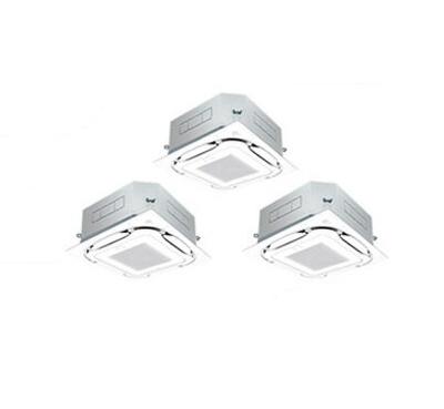 ダイキン 業務用エアコン EcoZEAS天井埋込カセット形S-ラウンドフローオートクリーンパネル 同時トリプル160形SZRC160BCM(6馬力 三相200V ワイヤード)■分岐管(別梱包)含む