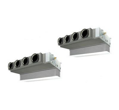 ダイキン 業務用エアコン EcoZEAS天井埋込カセット形 ビルトインHiタイプ 同時ツイン224形SZZB224CJD(8馬力 三相200V ワイヤード 吸込ハーフパネル仕様)■分岐管(別梱包)含む
