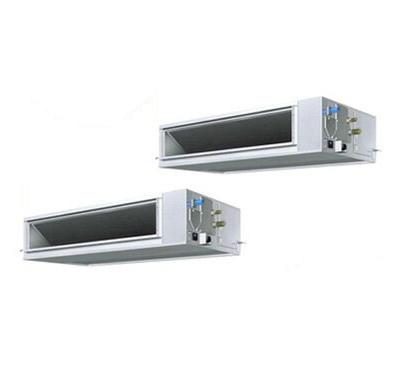 ダイキン 業務用エアコン EcoZEAS天井埋込ダクト形<高静圧> 同時ツイン280形SZZM280CJD(10馬力 三相200V ワイヤード)■分岐管(別梱包)含む