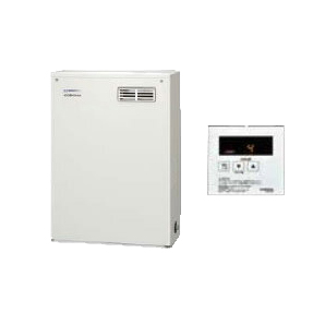 コロナ 石油給湯機器NXシリーズ(貯湯式)給湯専用タイプ UIBシリーズ 据置型 36.2kW屋外設置型 前面排気 シンプルリモコン付属UIB-NX37R(MD)