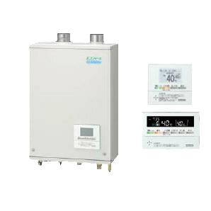 コロナ 石油給湯機器エコフィール EGシリーズ(水道直圧式) ガス化給湯+追いだきタイプ UKBシリーズ 壁掛型 46.5kW屋内設置型 強制給排気 ボイスリモコン付属UKB-EG470RX-S(FFW)