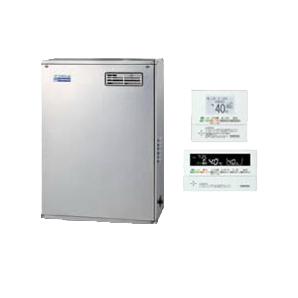 コロナ 石油給湯機器エコフィール NEシリーズ(標準圧力型貯湯式)オートタイプ UKBシリーズ(給湯+追いだき) 据置型 45.6kW屋外設置型 前面排気 インターホンリモコン付属 高級ステンレス外装UKB-NE460AP-S(MSD)
