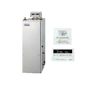 コロナ 石油給湯機器 エコフィール NE-Hシリーズ(高圧力型貯湯式) オートタイプ UKBシリーズ(給湯+追いだき) 据置型 45.6kW 屋外設置型 無煙突 インターホンリモコン付属 高級ステンレス外装 UKB-NE460HAP-S(SD)