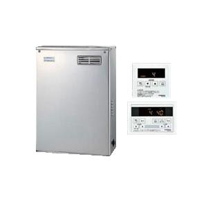 コロナ 石油給湯機器NXシリーズ(貯湯式)給湯+追いだきタイプ UKBシリーズ 据置型 36.2kW屋外設置型 前面排気 シンプルリモコン付属 高級ステンレス外装UKB-NX370R(MSD)