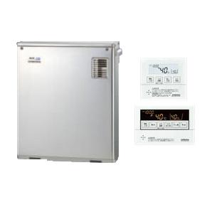 コロナ 石油給湯機器SAシリーズ(水道直圧式)フルオートタイプ UKBシリーズ(給湯+追いだき) 据置型 46.5kW屋外設置型 前面排気 ボイスリモコン付属 高級ステンレス外装UKB-SA470FMX(MS)