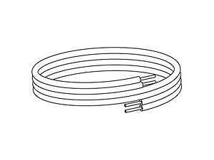 コロナ 温水ルームヒーター 関連部材温水暖房配管 架橋ポリパックチューブ10 20mUSA-P10-20