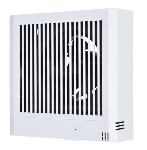 三菱電機 パイプ用ファン 24時間換気機能付居室・洗面所用 角形格子グリル湿度センサータイプV-08PHLD7