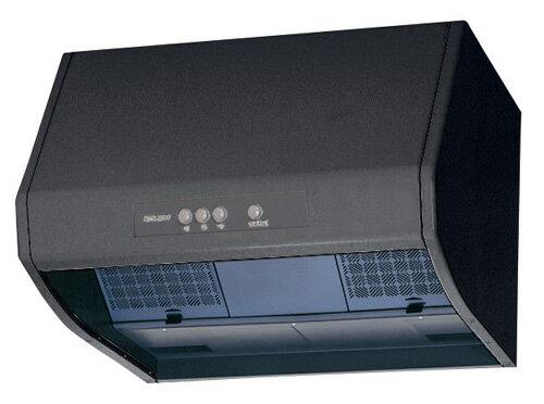三菱電機 換気扇レンジフードファンブース形 (深形) ブラック上幕板なしタイプ V-602K7-BK-M