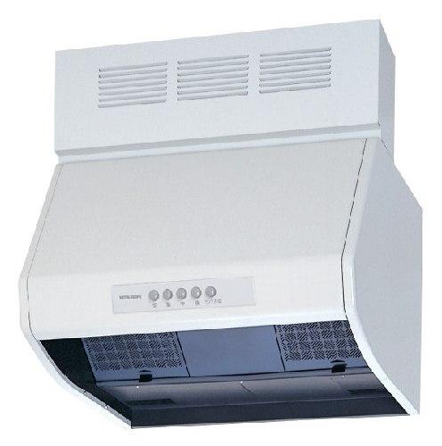 ●V-604KQ7-BLレンジフードファン ブース形(深形)BL認定品 自然給気タイプ 60cm幅三菱電機 換気扇 台所・キッチン用