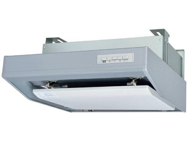 三菱電機 レンジフードファンフラットフード形 給気シャッター連動一体プラグ付BL規格排気型IV型 シルバー色 左排気 600mm幅V-604SHL2-BLL-S