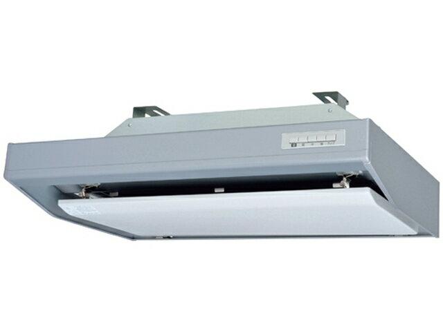 三菱電機 レンジフードファンフラットフード形 給気シャッター連動一体プラグ付シルバー色 左排気 900mm幅V-754SHL2-L-S