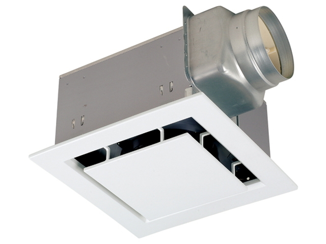 三菱電機 ダクト用換気扇天井埋込形 居間・事務所・店舗用 低騒音形スリットインテリア・フリーパワーコントロールタイプVD-20ZR10-X