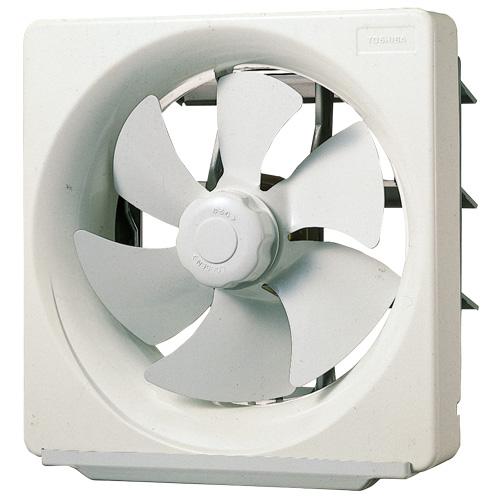 東芝 一般換気扇台所用 不燃形 電気式シャッターVFM-25APM1