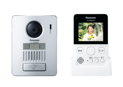 パナソニック Panasonic ワイヤレステレビドアホン1+1タイプ 基本システムセットVL-SGD10L