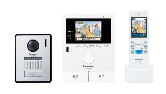 パナソニック Panasonic 家じゅうどこでもドアホンワイヤレスモニター付テレビドアホン2-7タイプ 基本システムセットVL-SWD303KL
