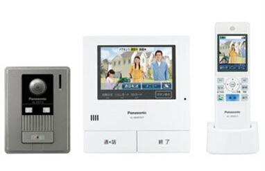Panasonic 家じゅうどこでもドアホンワイヤレスモニター付テレビドアホン2-7タイプ 基本システムセットVL-SWD501KL