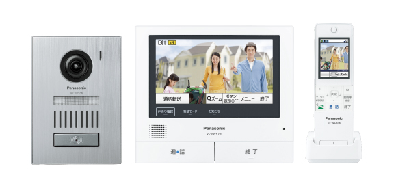 パナソニック Panasonic 業界初 外でもドアホンワイヤレスモニター付テレビドアホン3-7タイプ 基本システムセットVL-SWH705KS