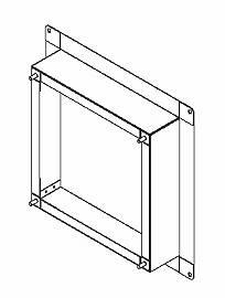 東芝 換気扇システム部材有圧換気扇専用排気用アタッチメントVP-40-HA