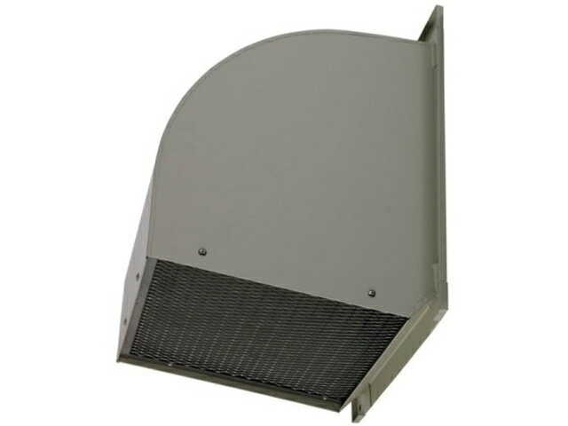 三菱電機 有圧換気扇用システム部材ウェザーカバー 排気形防火タイプ厨房等高温場所用 鋼板製 防鳥網標準装備W-40TDBC