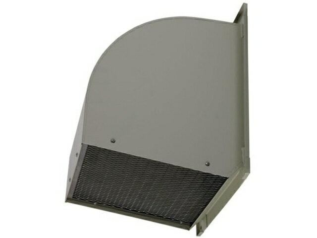 ●三菱電機 有圧換気扇用システム部材ウェザーカバー 排気形防火タイプ一般用 鋼板製 防鳥網標準装備W-60TDB