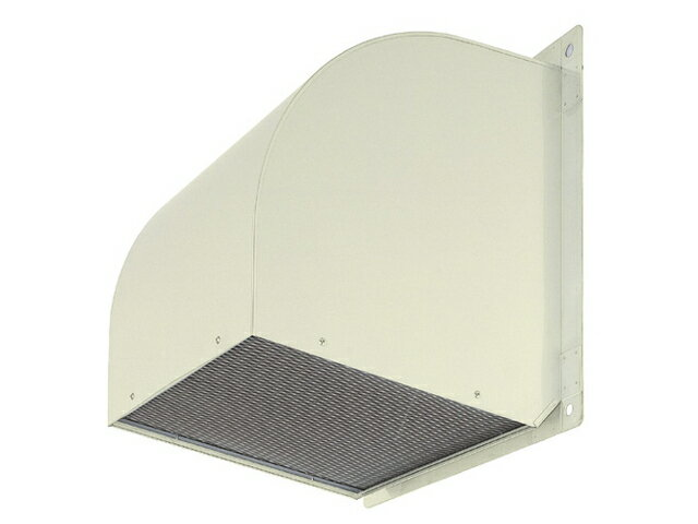 ●三菱電機 有圧換気扇用システム部材有圧換気扇用ウェザーカバー 排気形標準タイプ鋼板製 防鳥網標準装備W-80TA-A
