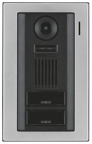 WJ-DA2アイホン WJ-45専用 カラーカメラ付玄関子機・二世帯用