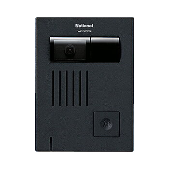 Panasonic テレビドアホンカラーカメラ付ドアホン子器WQD852B