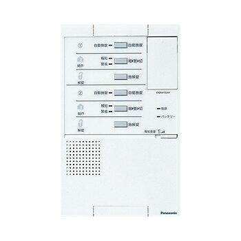Panasonic セキュリティ電気錠操作ユニットWQN4133WK