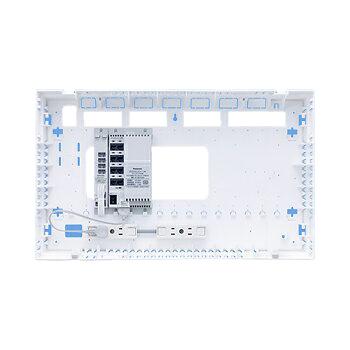WTJ4061マルチメディアポートALLシリーズ ギガ4K・8K 10M/100M/1GスイッチングHUB内蔵 ベースユニットパナソニック Panasonic 電設資材 マルチメディア対応配線器具