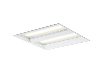 コイズミ照明 施設照明cledy EPシリーズ エコパネルLEDベースライトスクエアタイプ 埋込型 □450FHP32W×4クラス 電球色 非調光XD43762L