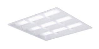 パナソニック Panasonic 施設照明一体型LEDベースライト 昼白色 埋込型 スクエアタイプFHP32形×3灯節電タイプ 格子タイプ □450 連続調光型XL372CBVLA9