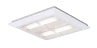 パナソニック Panasonic 施設照明一体型LEDベースライト 白色 直埋兼用FHP23形×4灯節電タイプ スクエアタイプ 格子タイプ □470 連続調光型XL463CBULA9