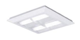 パナソニック Panasonic 施設照明一体型LEDベースライト 昼白色 直埋兼用FHP23形×4灯節電タイプ スクエアタイプ 格子タイプ □470 連続調光型XL463CBVLA9