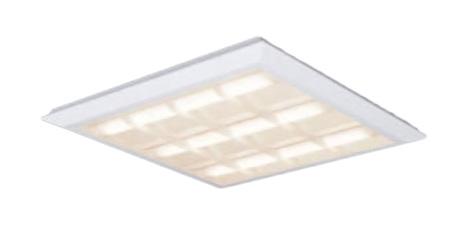 ●パナソニック Panasonic 施設照明一体型LEDベースライト 温白色 直埋兼用FHP45形×3灯節電タイプ スクエアタイプ 格子タイプ □720 連続調光型XL482CBFLA9