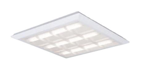 ●パナソニック Panasonic 施設照明一体型LEDベースライト 白色 直埋兼用FHP45形×3灯節電タイプ スクエアタイプ 格子タイプ □720 連続調光型XL482CBULA9
