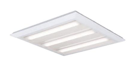 ●パナソニック Panasonic 施設照明一体型LEDベースライト 白色 直埋兼用FHP45形×3灯節電タイプ スクエアタイプ 下面開放 □720 連続調光型XL482PEULA9