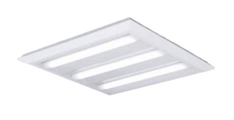 ●パナソニック Panasonic 施設照明一体型LEDベースライト 昼白色 直埋兼用FHP45形×3灯節電タイプ スクエアタイプ 下面開放 □720 連続調光型XL482PEVLA9