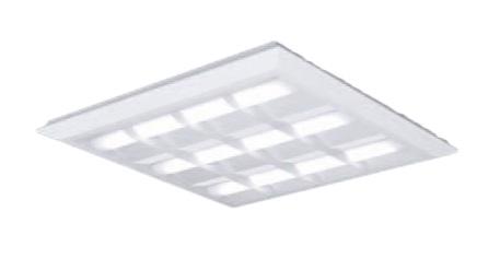 ●パナソニック Panasonic 施設照明一体型LEDベースライト 昼白色 直埋兼用FHP45形×4灯相当 スクエアタイプ 格子タイプ □720 連続調光型XL484CBVLA9