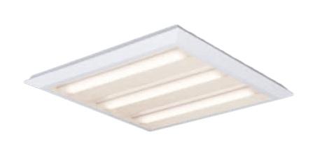 ●パナソニック Panasonic 施設照明一体型LEDベースライト 温白色 直埋兼用FHP45形×4灯高出力相当 スクエアタイプ 下面開放 □720 連続調光型XL485PEFLT9