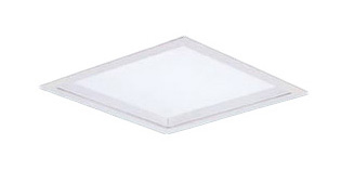 パナソニック Panasonic 施設照明一体型LEDベースライト 白色 埋込型FHP23形×3灯相当 スクエアタイプ乳白パネル □275 非調光型 深枠(白)タイプXL553PGUJLE9