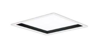 パナソニック Panasonic 施設照明一体型LEDベースライト 白色 埋込型FHP23形×3灯相当 スクエアタイプ乳白パネル □275 非調光型 深枠(黒)タイプXL553PHUJLE9