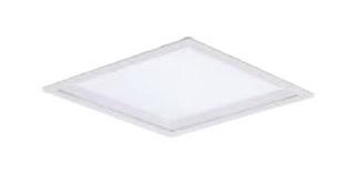 パナソニック Panasonic 施設照明一体型LEDベースライト 白色 埋込型FHP45形×3灯相当 スクエアタイプ乳白パネル □600 深枠(白)タイプ 連続調光型XL583PGUJLA9