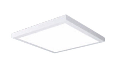 パナソニック Panasonic 施設照明一体型LEDベースライト 白色 直付型FHP45形×3灯相当 スクエアタイプ乳白パネル □600 連続調光型XL683PFUJLA9