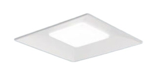 【当店おすすめ品】 パナソニック Panasonic 施設照明一体型LEDベースライト 埋込型 スクエアシリーズ スクエア光源タイプ温白色 調光 下面開放型 □600 6500lmタイプコンパクト形蛍光灯FHP32形3灯器具相当埋込XLX160VEV LA9