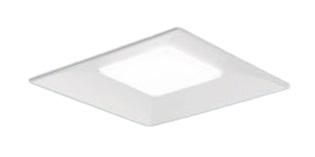 パナソニック Panasonic 施設照明一体型LEDベースライト 埋込型 スクエアシリーズ スクエア光源タイプ温白色 調光 下面開放型 □600 8000lmタイプコンパクト形蛍光灯FHP32形4灯器具相当埋込XLX181VEV RZ9
