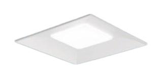 パナソニック Panasonic 施設照明一体型LEDベースライト 埋込型 スクエアシリーズ スクエア光源タイプ白色 調光 下面開放型 □600 8000lmタイプコンパクト形蛍光灯FHP32形4灯器具相当埋込XLX182VEWDZ9