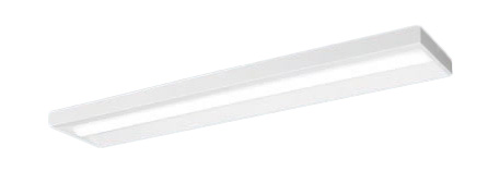 【当店おすすめ品】 パナソニック Panasonic 施設照明一体型LEDベースライト iDシリーズ 40形 直付型Hf蛍光灯32形高出力型1灯器具相当スリムベース 一般・3200lmタイプ 電球色 調光直付XLX430SELZ LA9