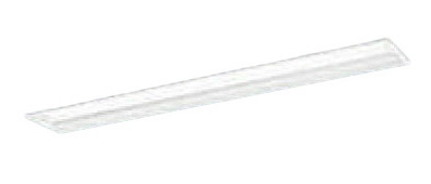 パナソニック Panasonic 施設照明一体型LEDベースライト 40形 埋込型 W190下面開放型 Hf蛍光灯32形定格出力型2灯器具相当マルチコンフォートタイプ グレアセーブタイプ5200lmタイプ 昼白色 調光XLX454RHNTLA9